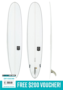 Creative Army JIve + SLX Longboard Surfboard