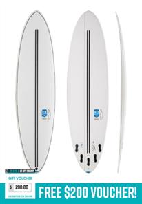 Chilli Mid Strength Twin Tech Construction Surfboard