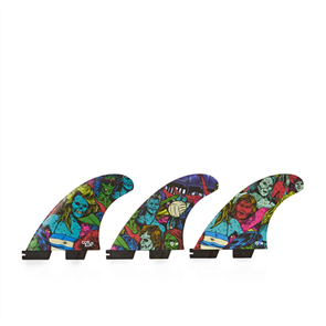 Gorilla Gorilla Fcs Ii Zombies Pc Medium Tri Fin Set