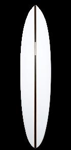 Haydenshapes Mid Length Glider Futures 2 + 1 Single Fin Surfboard