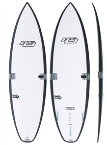 Hayden Shapes White Noiz - Future Flex, Short Board, Clear
