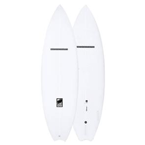Haydenshapes Raven PU FCS II 3 Fin Surfboard