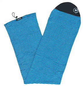 Curve Surfboard Socks - Longboard Fish, Black White Blue