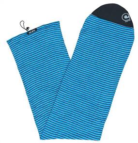 Curve Surfboard Socks - Longboard, Blue Skinny Stripe