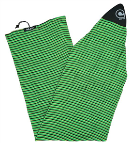 Curve Surfboard Socks - Shortboard, Green Horizon