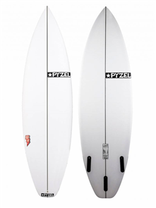 Pyzel Highline Surfboard with 3 FCS Fins