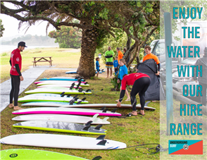 US Level 3 Soft Surfboard & Sup Hire Deal