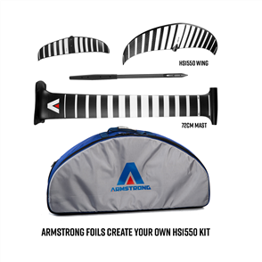 Armstrong Foils HS1550 V1 Wing + 72 Mast Foil Kit, Create your custom combo