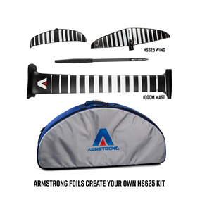 Armstrong Foils HS625 Wing + 100cm Mast Foil Kit, Create your custom combo