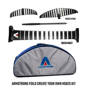 Armstrong Foils HS625 Wing Complete Foil Kit with 85cm Mast (A+ System)