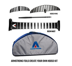 Armstrong Foils HS850 Wing Complete Foil Kit with 85cm Mast (A+ System)