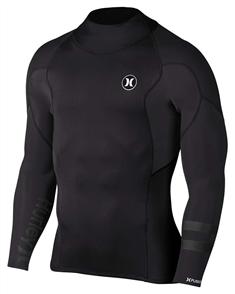Hurley Mens Fusion 1/1mm Jacket 00A, Black