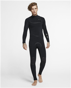 Hurley Advantage Max 3/2 Mm Full Suit Wetsuit, 010 Black