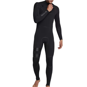 Hurley ADVANTAGE MAX 4 / 3MM FULL SUIT STEAMER WETSUIT CHEST ZIP, Black
