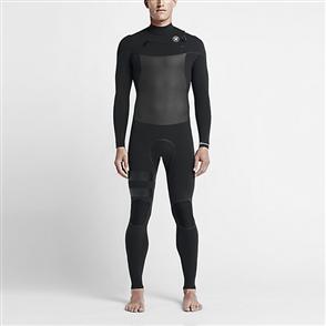 Hurley Mens Phantom 3/3mm Full Suit 00A, Black