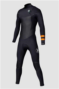 Hurley Ltd 2/2mm Full Steamer Wetsuit, Black B
