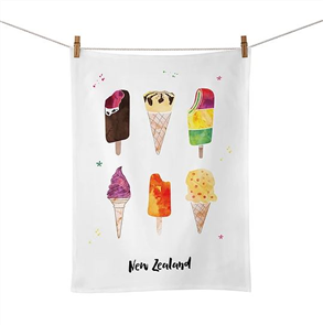 Moana Rd Tea Towel, Ice Cream