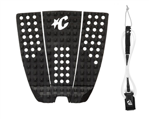 Creatures Of Leisure Pro 6 Board Leash, Icon Grip Combo