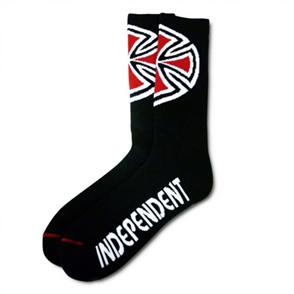 Independent OG Cross Socks 4Pair, Black