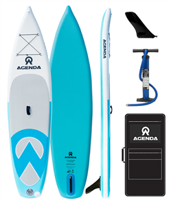 "Agenda Island Hopper Isup Board Bag Pump - 11'6 x 32"" x 6"""