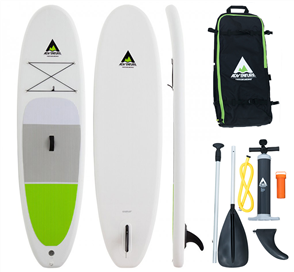 Adventure Paddle Inflatable SUP Kit - Lime