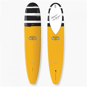 Takayama In The Pink Tuflite Surfboard, Mustard