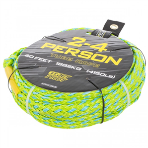 Jet Pilot 2-4 Person Tube Rope, Green