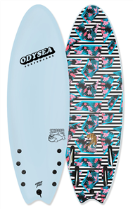 Odysea JOB Odysea Skipper Pro Quad Softboard, Sky Blue 18
