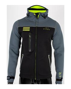 Jet Pilot X1 Tour Coat, Black/ Charcoal