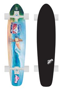 Shifty Kicktail Longboard Erica .P Beach