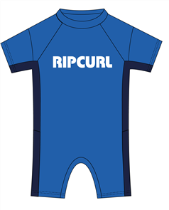 Rip Curl Kids Dawn Patrol Short Sleeve Spring Suit, 0070 Blue