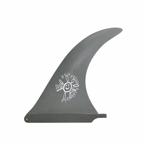 "Captain Fin Co Alex Knost 10"" Sunshine Fin, Grey"