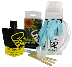 Phix Doctor Large Sunpowered Epoxy Kit - 4 Oz
