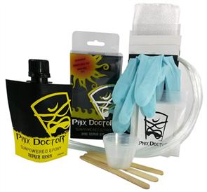 Phix Doctor Large Sunpowered Epoxy Kit - 4 Oz