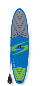 Surftech The Lido Paddle Board and Paddle Package, Blue