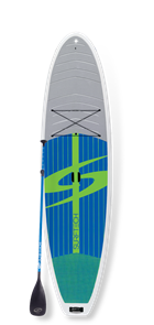 Surftech The Lido Paddle Board and Paddle Package, Grey
