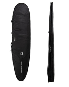 Creatures Of Leisure Longboard Day Use DT2.0 Surfboard Bag, Blk/ Silver