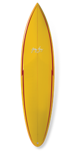 GERRY LOPEZ Pocket Rocket PU Tri-fin, Yellow, 8'0