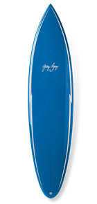 Gerry Lopez Pocket Rocket PU Tri-fin, Blue, 7'4