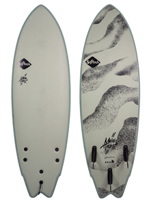 Softech Surfboards Mason Twin Soft Surfboard, Desert Storm