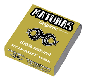 Matunas Organic Tropical Surf Wax 90G