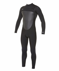 Oneill Defender Full Fuze 4/3Mm Chest Zip Steamer, A05 Black