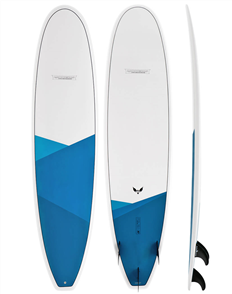 Modern Blackbird X1 Epoxy Long Board Blue Blue Design