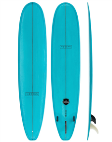 Modern The Boss Classic PU Tech Longboard, Aqua Tint