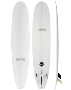 Modern The Boss Classic PU Tech Longboard, White Pigment
