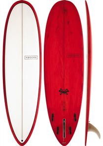 Modern Love Child Surfboard, Red Tint