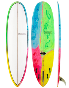 Modern Love Child PU Egg Surfboard, Psychedelic Kaleidoscope