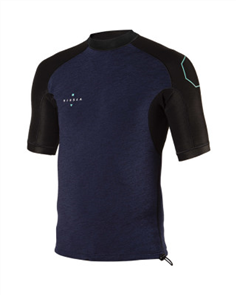 Vissla 1MM HIGH SEAS SS WETSUIT TOP, Naval Heather
