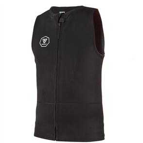 Vissla 2mm Front Zip Jacket, Black Jade