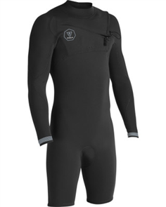 Vissla 7 Seas 2/2Mm Long Sleeve Spring, Black Fade